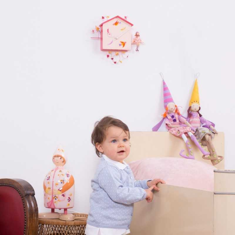 Horloge Pour Chambre D 39 Enfant Gar On Fille
