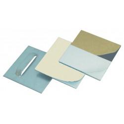 Bag of 10 adhesive hooks for dibond, glass,