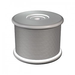 Wire spool, galvanized steel cable