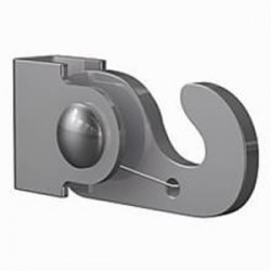 Self-locking hook for 4 mm steel rod