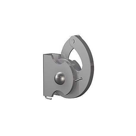 Crochet antivol pour tige de suspension carrée de 4 mm