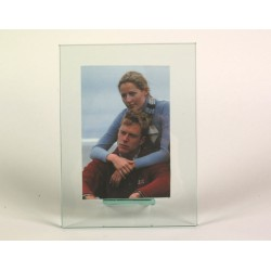 photo frame in glass