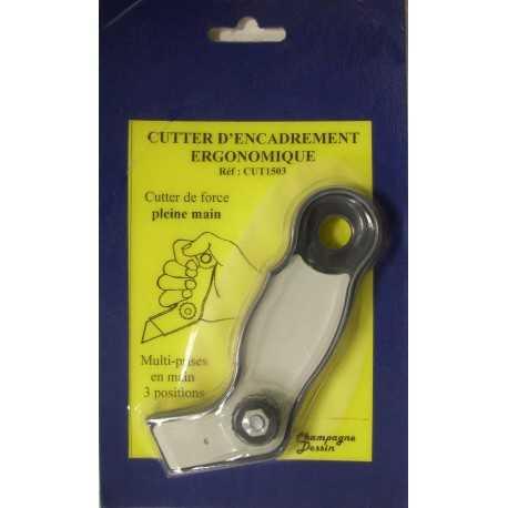 Cutter d'encadrement ergonomique