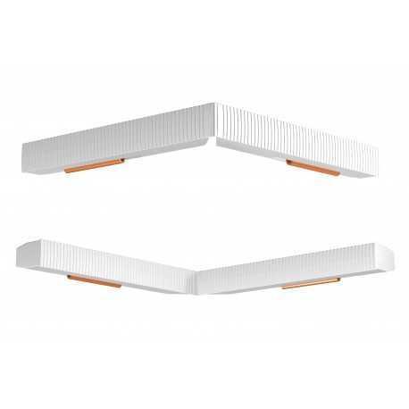 Connecteur cimaise rail combi pro light