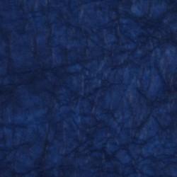 Feuille papier translucide bleu profond