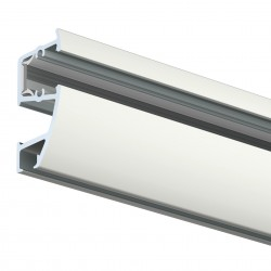 Combi Rail Pro Light – hanging rail with picture lighting