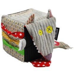 Les Cubes d'activités pour enfants : BIGBOS LE LOUP