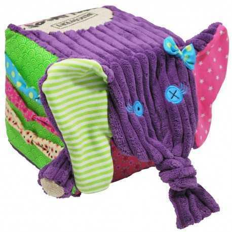 Les Cubes d'activités pour enfants : SANDYKILOS L'ELEPHANT