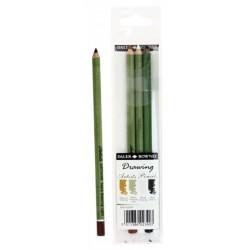 Set de 4 crayons à dessin Beaux-arts