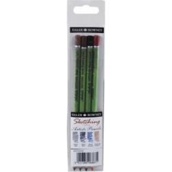 Set de 4 crayons Esquisse Beaux-arts