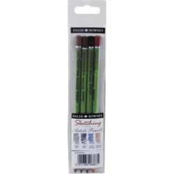 Set of 4 Fine Art sketching pencils