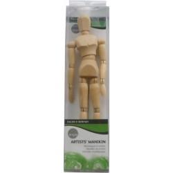 Mannequin articulé en bois pour peintre