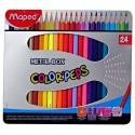 Box of 24 colored pencils