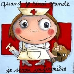 """Tableau """"Je serai infirmière"""""""