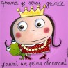 """Tableau """"Prince charmant"""""""