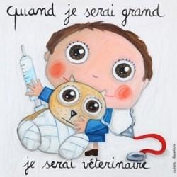 "Tableau ""Vétérinaire garçon"""