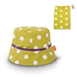 Le chapeau de pluie pour enfant couleur Anis