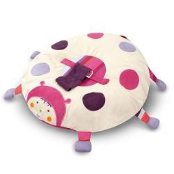 Coussin de sieste, réhausseur pour bébé, nouveau né motif cox champagne rosé