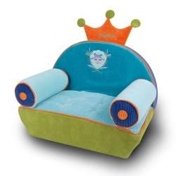 Vraieuil, fauteuil pour enfant personnalisé avec son prénom. Le laton raveur