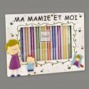 """Cadre photo garçon """"ma mamie et moi"""""""