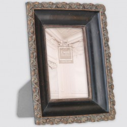 Aged historical picture frame