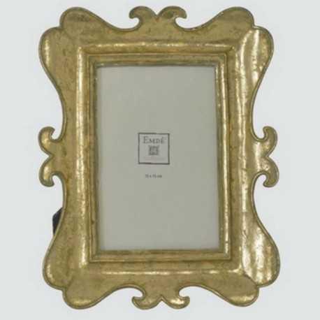 Cadre photo doré Baroque