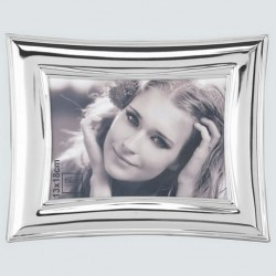 Chrome picture frame