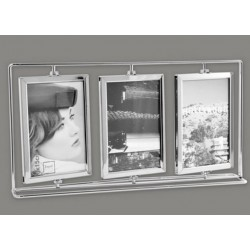 Metal Photo Frame for 3 Swivel Views and More