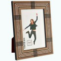 Photo frame in marquetry