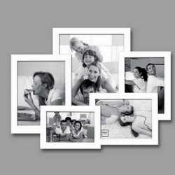 Multiview wood picture frame 48 x 36 cm