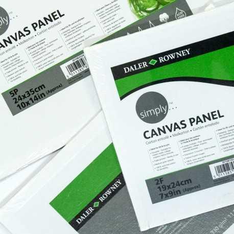 Carton entoilé pour huile ou acrylique