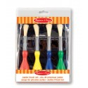 Box of 4 brushes for children