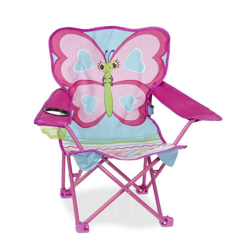Chaise Pliable Pour Enfant Decor Papillon
