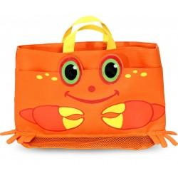 Sac d'exterieur pour enfant décor crabe