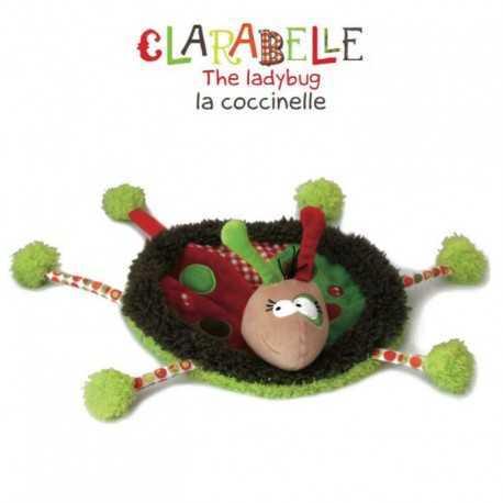 Doudou pour enfant en bas âge, Clarabelle