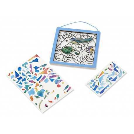 Le vitrail océan, un jeu pour enfant