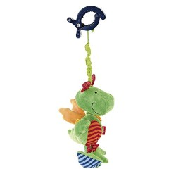 Dragon vibrating rattle for child
