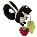 Activity games with skunk for child, girl or boy