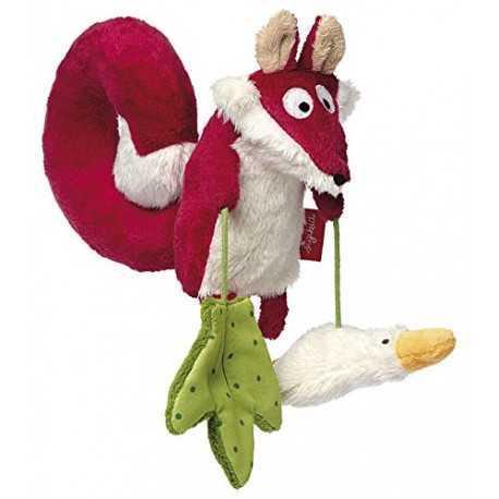 Jeux d'activités, le renard et son oie pour enfant