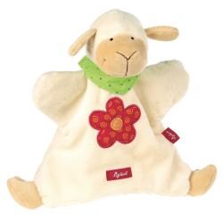 Marionette mouton, doudou pour enfant