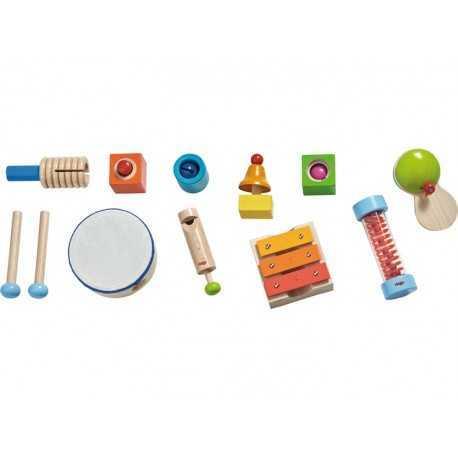 Ensemble d'instruments de musique pour enfant