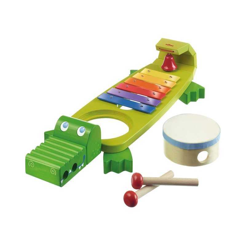 xylophone crocodile instrument de musique pour enfant. Black Bedroom Furniture Sets. Home Design Ideas
