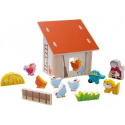 The hen house games for children