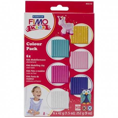Pâte Fimo couleurs pastels