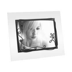 Cadre photo en verre au format 13x18