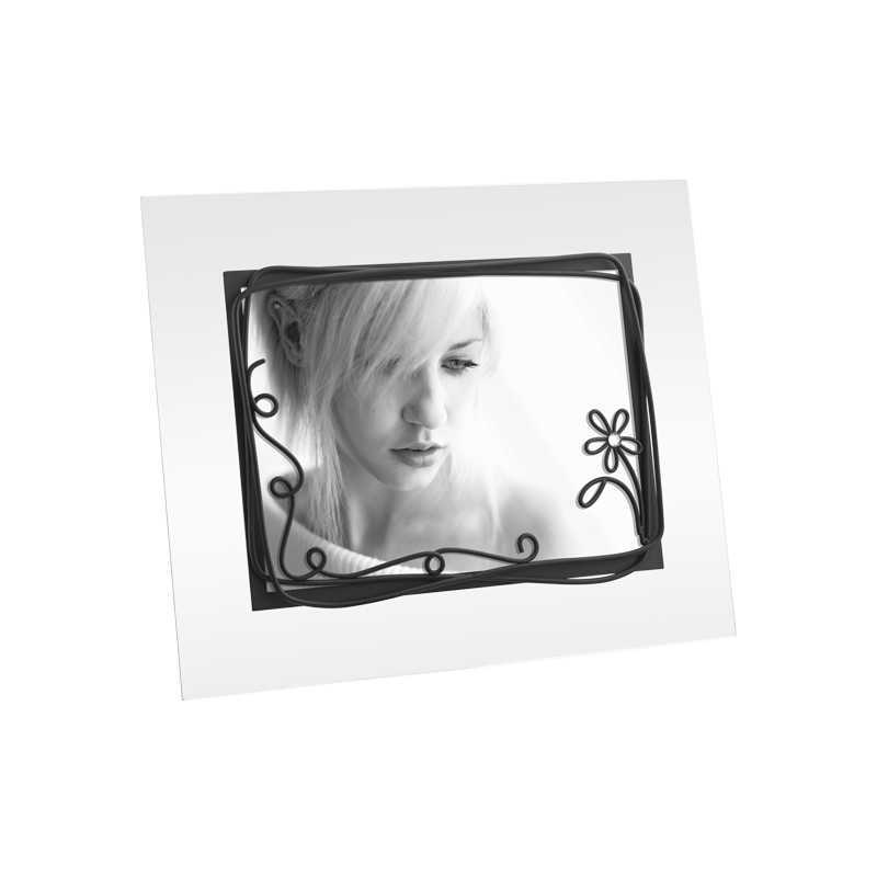 cadre photo en verre au format 13x18. Black Bedroom Furniture Sets. Home Design Ideas