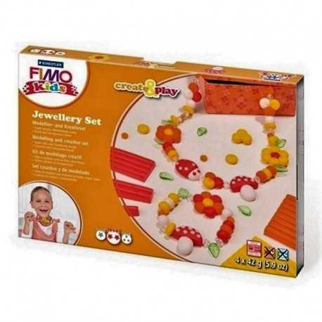 Kit de modelage créatif, Fimo kids, kit bijoux