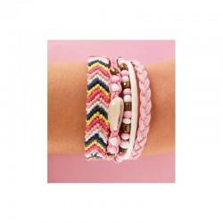 Mon bracelet Brésilien, loisir créatif, modèle amour