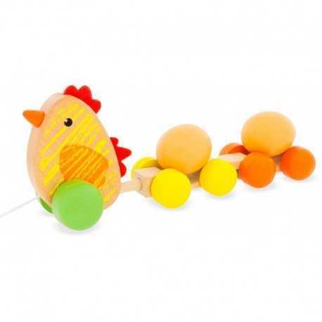 La poule à traîner, chariot pour enfant