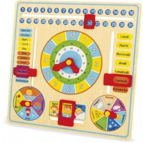 Apprendre l'éphéméride, jeux pour enfant